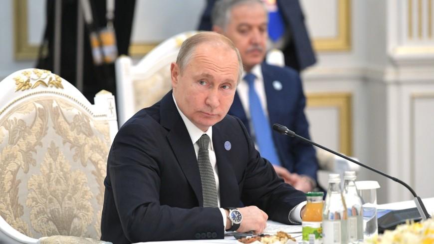 Путин: Один из ключевых приоритетов ШОС – борьба с терроризмом