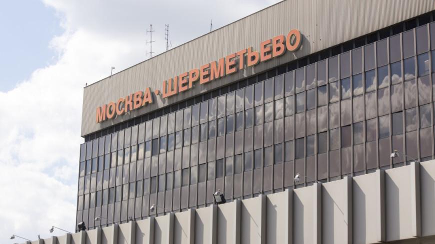Из-за неисправности на борту самолет вернулся в Шереметьево