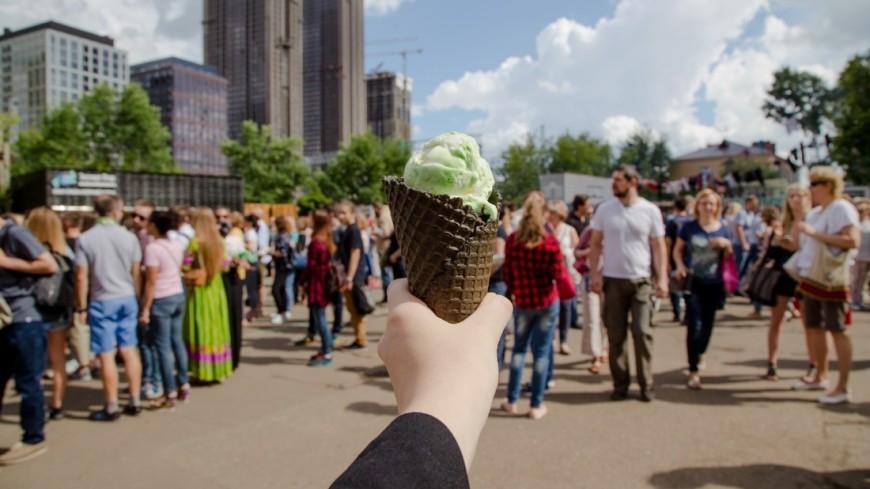 Фестиваль «Вся Грузия в одном Флаконе»,мороженое, лето, жара