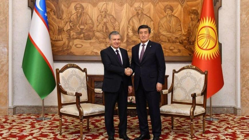 Жээнбеков и Мирзиеев на встрече в Бишкеке договорились укреплять сотрудничество