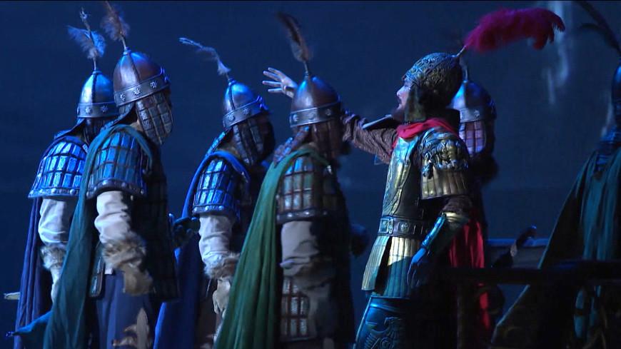 «Манас» из Поднебесной: в Кыргызстане впервые поставили китайскую версию оперы