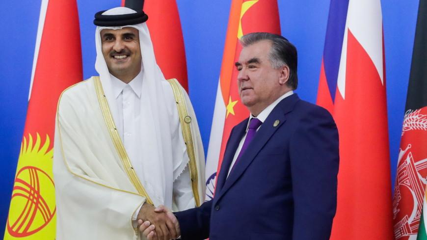Рахмон обсудил с эмиром Катара вопросы безопасности и сотрудничества