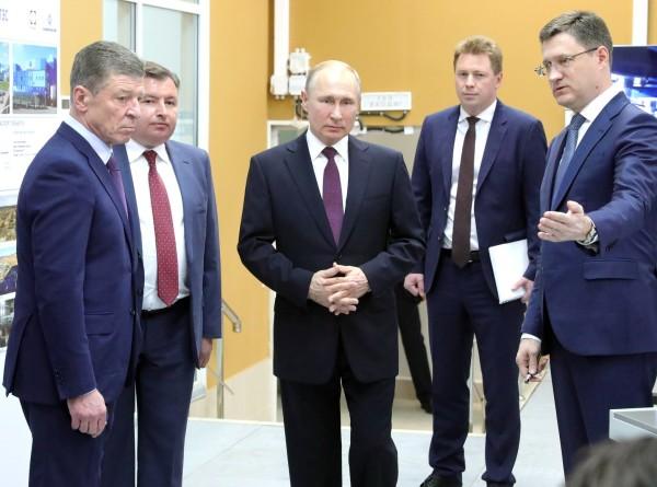 Путин: Крымские ТЭС позволят экспортировать электроэнергию в другие регионы