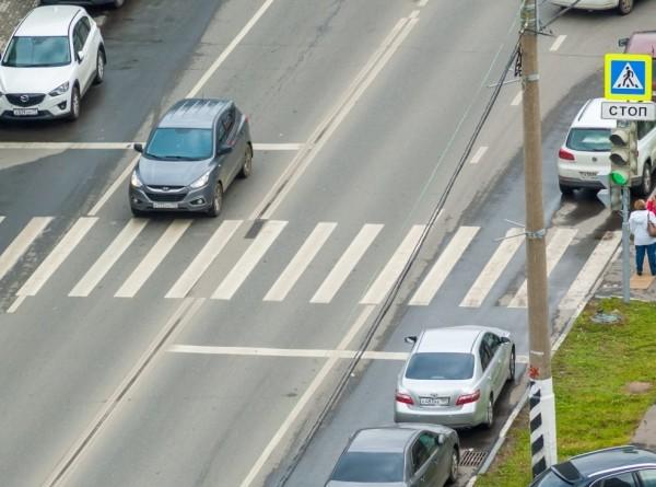 В Москве добавят камер для штрафов за непропуск пешеходов