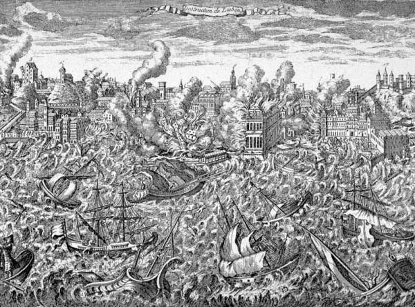 В письме монахини нашли описание Лиссабонского землетрясения