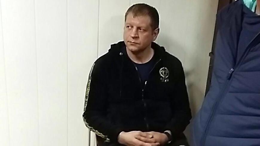 Емельяненко признался в нетрезвом вождении