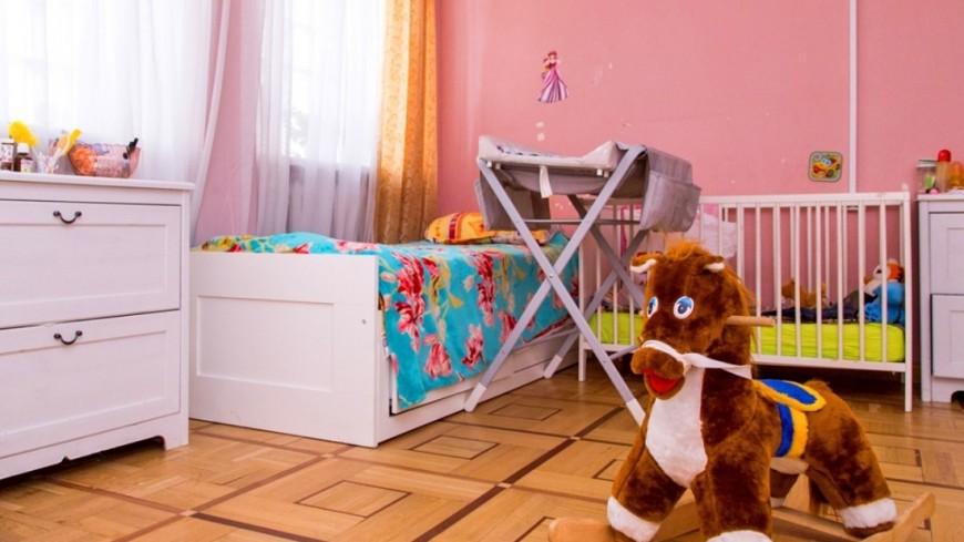 """Фото: Максим Кулачков (МТРК «Мир») """"«Мир 24»"""":http://mir24.tv/, детская, дом для мамы, комната"""