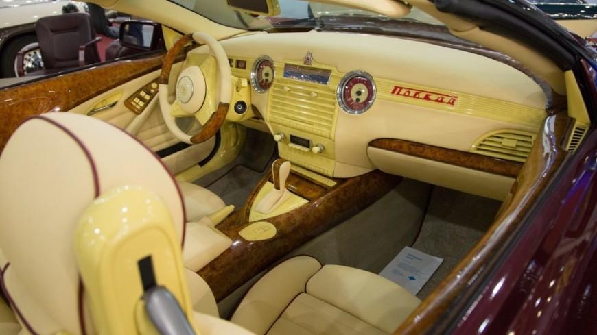 Секретные разработки, авто звезд и мафиози: в Москве показали машины с историей