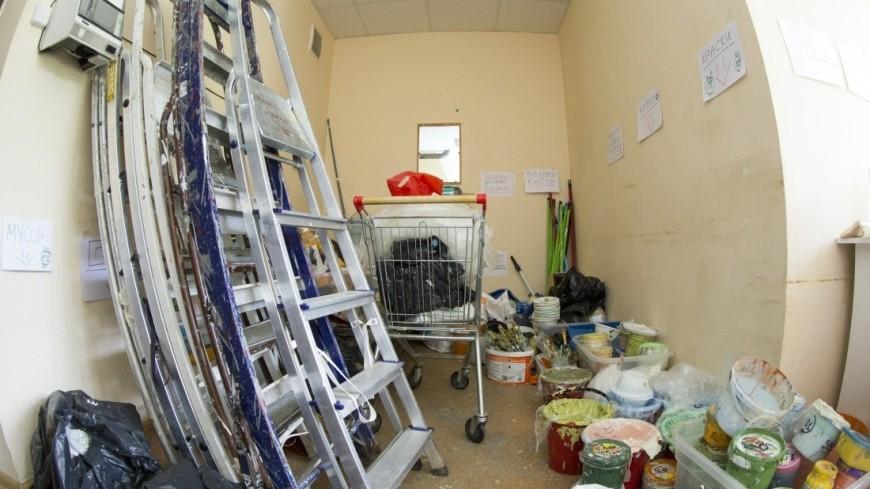 Волонтеры проекта «Веселый коридор» расписывают стены в московских больницах уже 4 года.,ремонт, рисунок,, рисование,ремонт, рисунок,, рисование