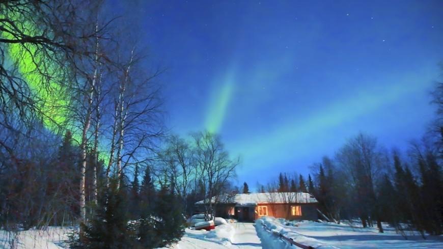 """Фото: Павел Матвеев, """"«Мир 24»"""":http://mir24.tv/, северное сияние"""