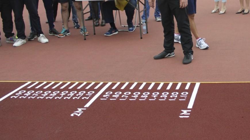 """Фото: Екатерина Ковалева, """"«Мир 24»"""":http://mir24.tv/, спорт, гто, прыжки в длину"""