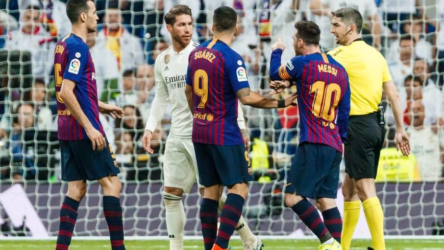 «Барселона» победила «Реал» в матче чемпионата Испании