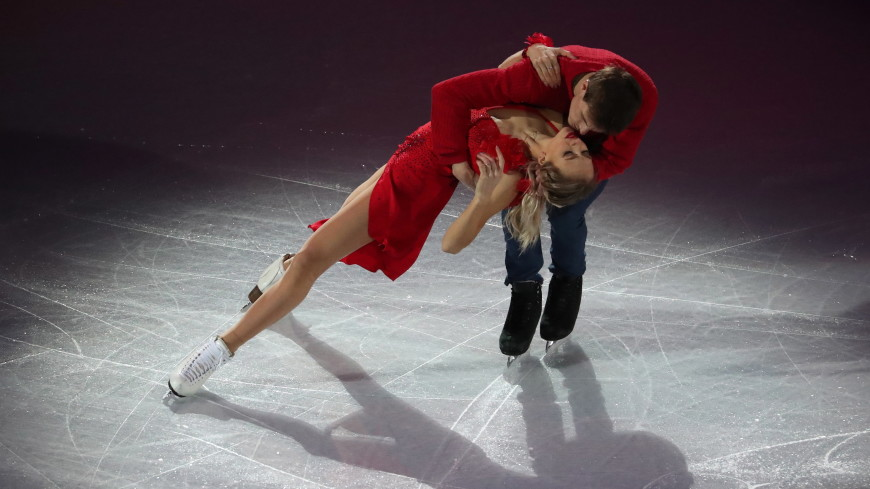 Синицина и Кацалапов стали вторыми в танцах на льду на ЧМ в Японии