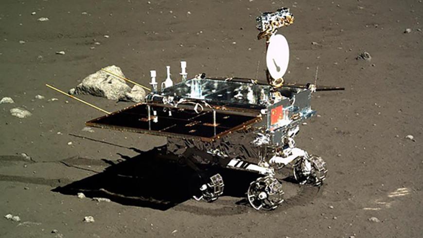 Луноход «Нефритовый заяц» прошагал по обратной стороне Луны 163 метра
