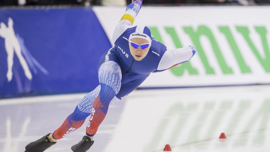 Российский конькобежец Кулижников стал победителем Кубка мира на дистанции 500 м