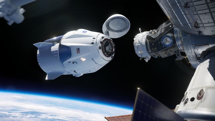 NASA изменило траекторию стыковки Dragon-2 с МКС по просьбе России