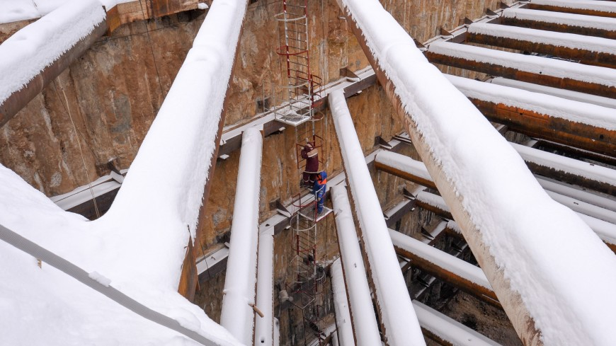 Строительство тоннелей метро под каналом имени Москвы завершилось