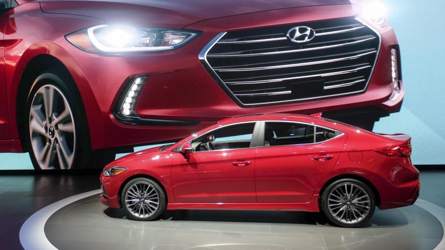 Названа цена обновленного седана Hyundai Elantra