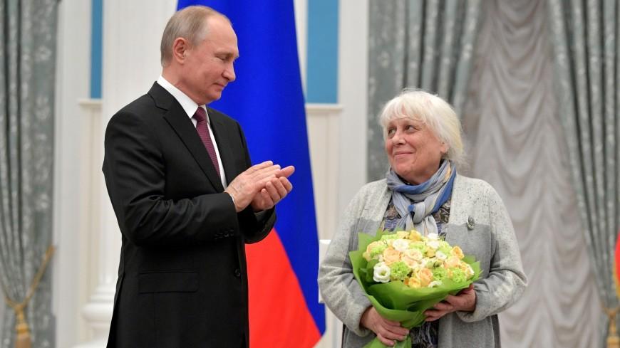 Заслуги и начинания: Путин вручил премии работникам культуры