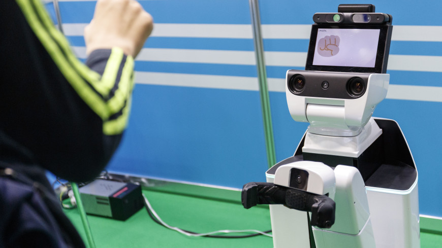 В Токио представили роботов-ассистентов для гостей Олимпиады