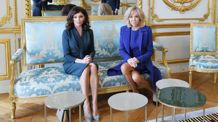 Мехрибан Алиева и Брижит Макрон обсудили проблемы гендерного равенства