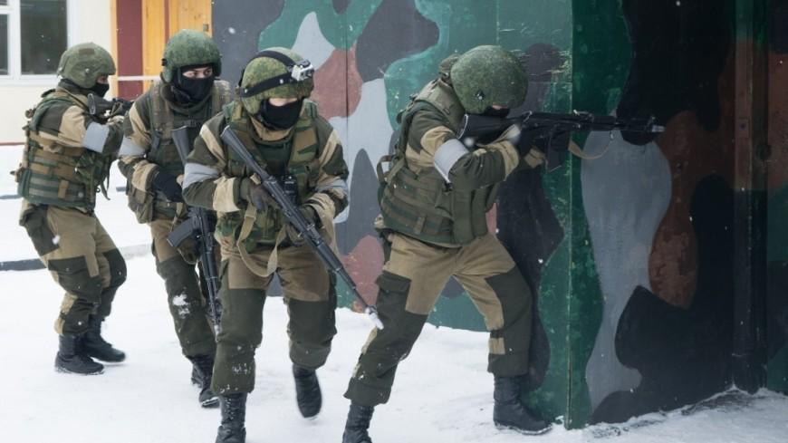 Учения отряда спецназа Росгвардии «Пересвет»