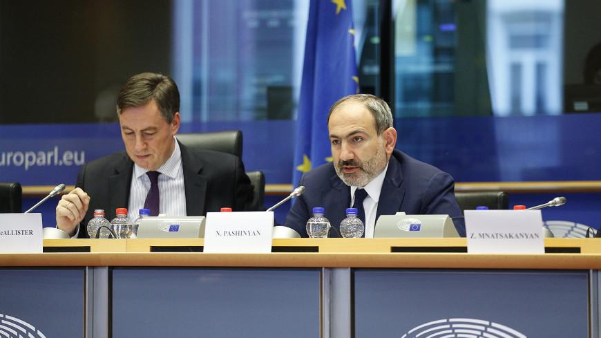 Пашинян: Армения настроена на активное сотрудничество с Евросоюзом