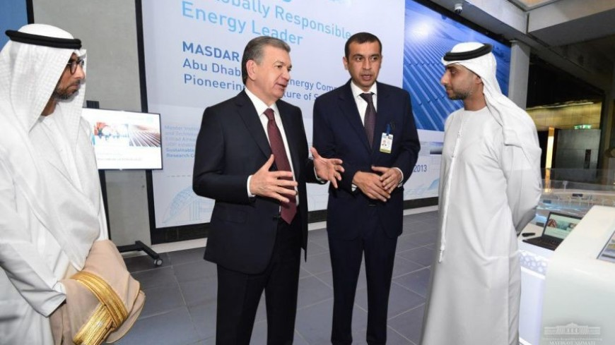 Мирзиеев посетил технопарк «Masdar City»