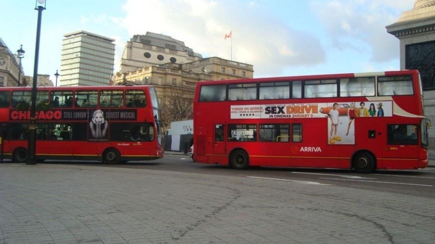 """© Фото: Елизавета Шагалова, """"«МИР 24»"""":http://mir24.tv/, двухэтажный автобус, лондон, англия, великобритания"""