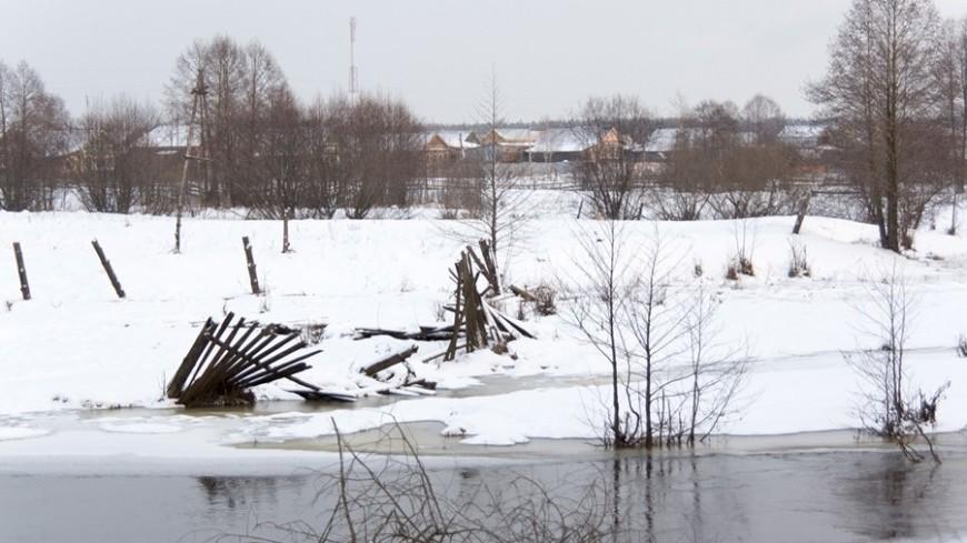"""© Фото: Татьяна Константинова, МТРК """"Мир"""", лед, зима, погода, мороз, река"""