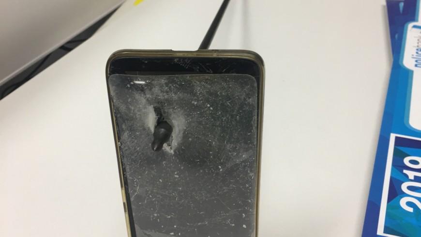 Австралиец отбился от пущенной в него стрелы с помощью iPhone