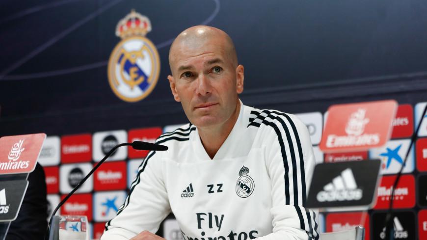 Мадридский «Реал» победил в первом матче после прихода Зидана
