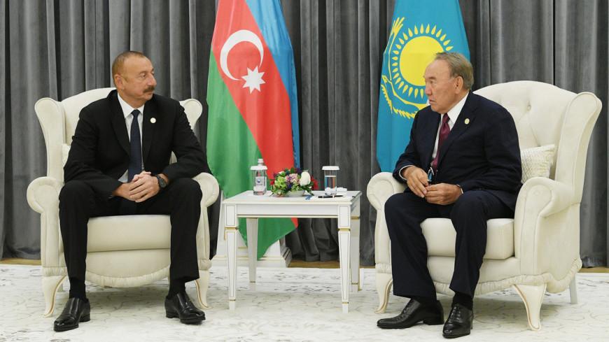 Алиев высоко оценил роль Назарбаева в развитии двусторонних отношений
