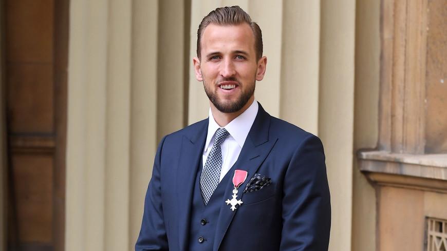 Форвард сборной Англии Кейн получил Орден Британской империи