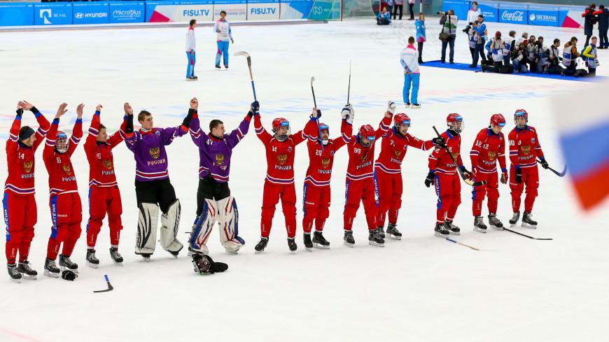 «Исторический успех»: мужская сборная России по бенди взяла золото Универсиады