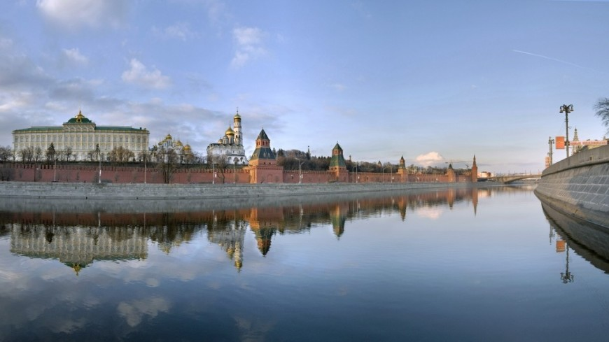 Вид на Кремль с Москвы-реки