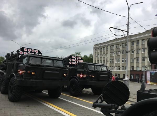 Парад во Владикавказе в честь Дня Победы (ФОТО)
