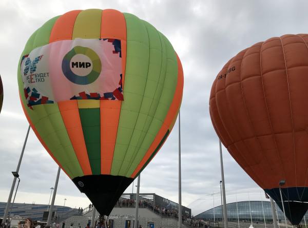 «Цифра» набирает высоту: аэростат с логотипом «МИРа» взлетел над Сочи (ФОТО)