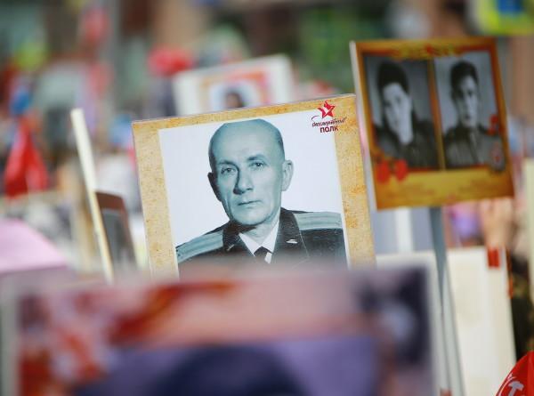 «Бессмертный полк» шагает по Москве (ФОТО)