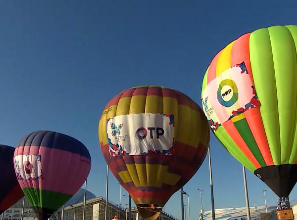 «Цифра» на высоте: над Сочи взлетел воздушный шар с логотипом «МИРа»
