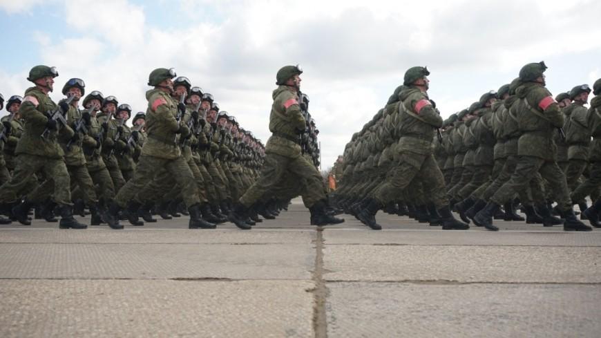 Генеральная репетиция: в Уфе парадным строем прошли 1300 военнослужащих