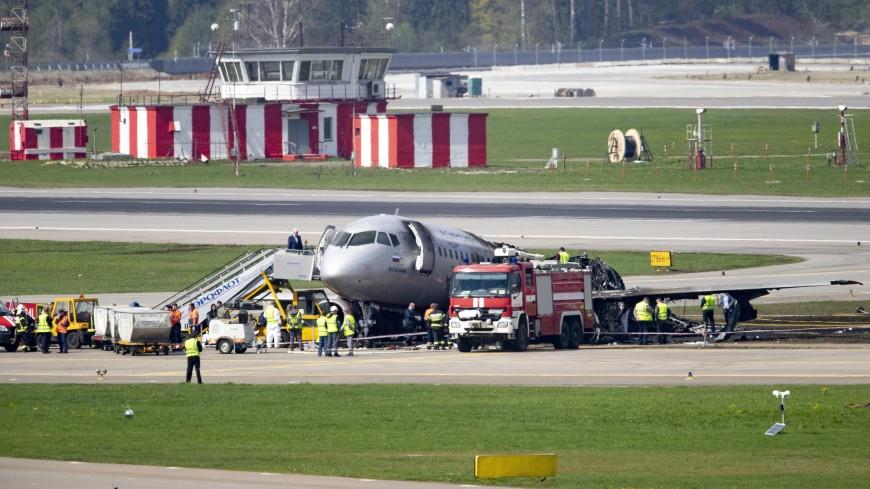 Пассажир SSJ: Молния два раза ударила в двигатель самолета