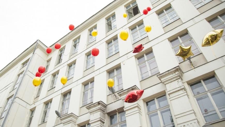 В омской гимназии во время последнего звонка обрушился потолок