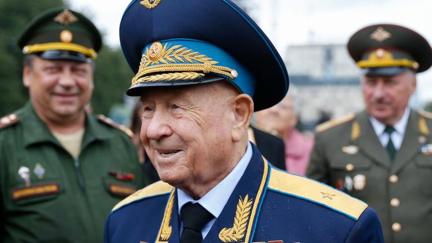 Космонавт Леонов отмечен орденом «За заслуги перед Отечеством»