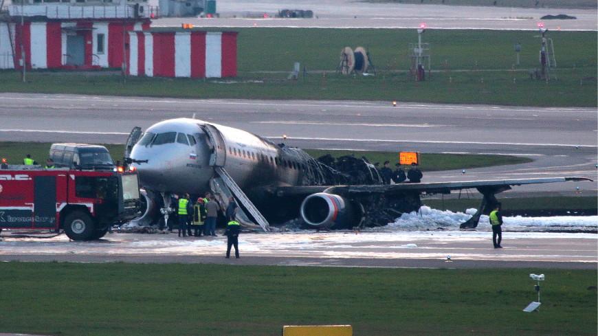 Найдены «черные ящики» сгоревшего в Шереметьеве самолета
