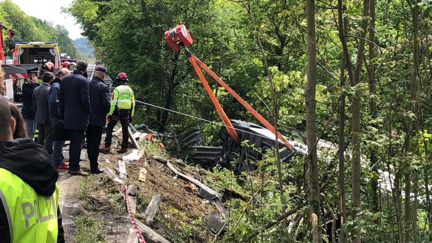 В ДТП с автобусом в Италии пострадали двое граждан Молдовы