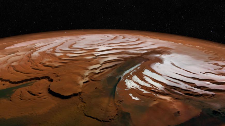 На Марсе нашли древние подземные ледники