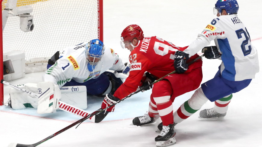 Сборная России по хоккею разгромила Италию на ЧМ со счетом 10:0