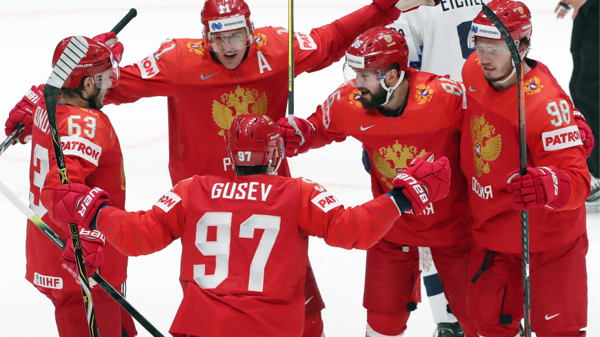 Соперником сборной России в полуфинале ЧМ по хоккею станет Финляндия