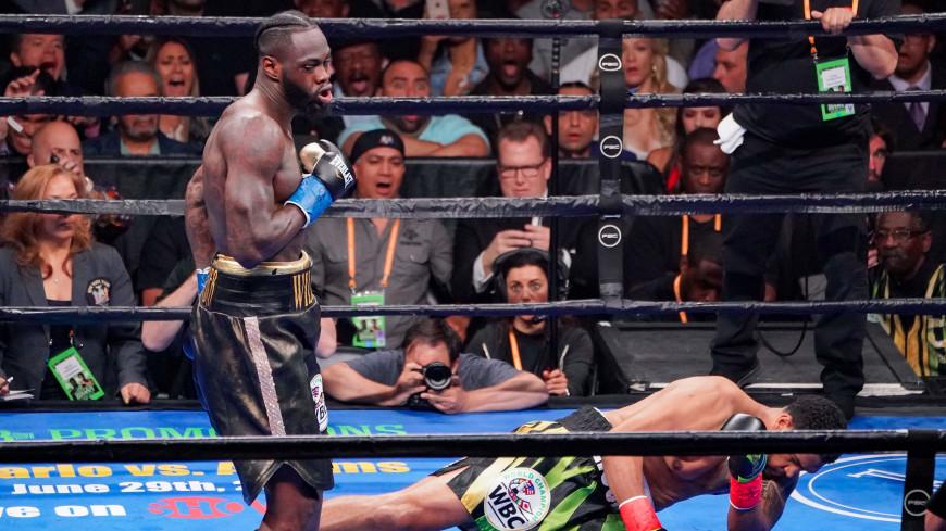 Уайлдер отправил Бризила в нокаут и защитил титул чемпиона WBC